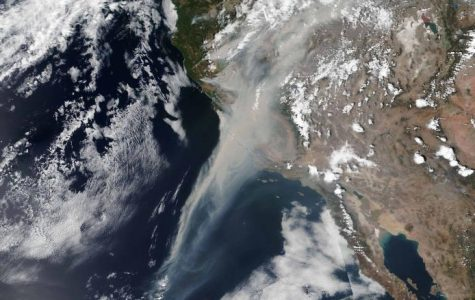Nasa Photo of Smoke from CA Wildfires
